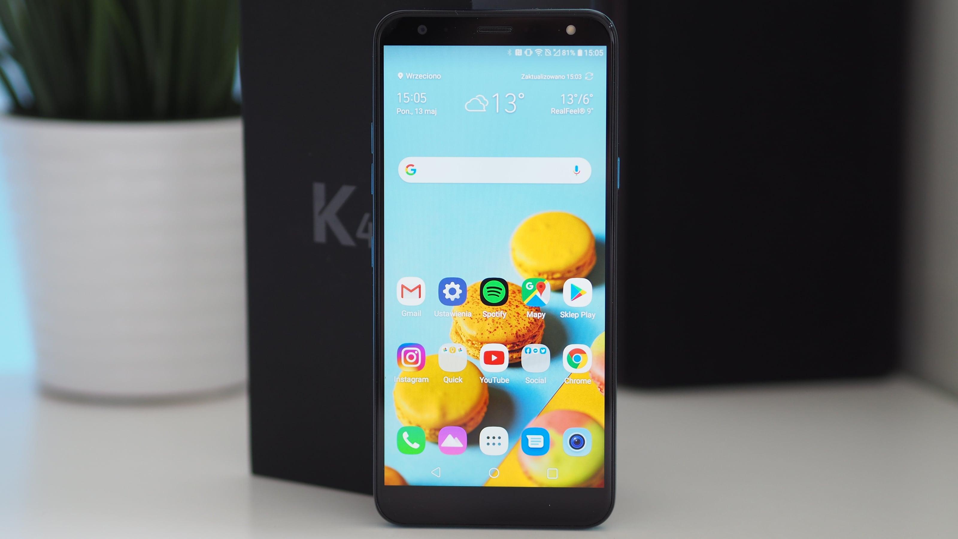 LG K40 - ktoś tu się pomylił z ceną (recenzja)