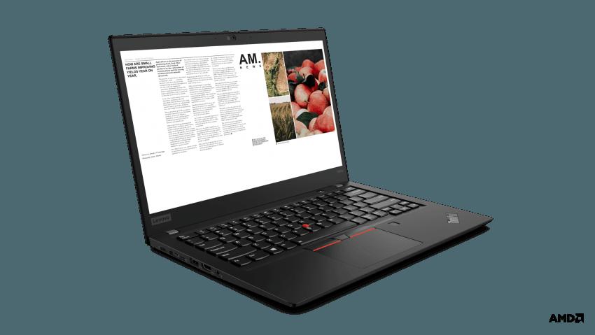 Rodzinka laptopów Lenovo ThinkPad z procesorami AMD Ryzen - ceny w Polsce