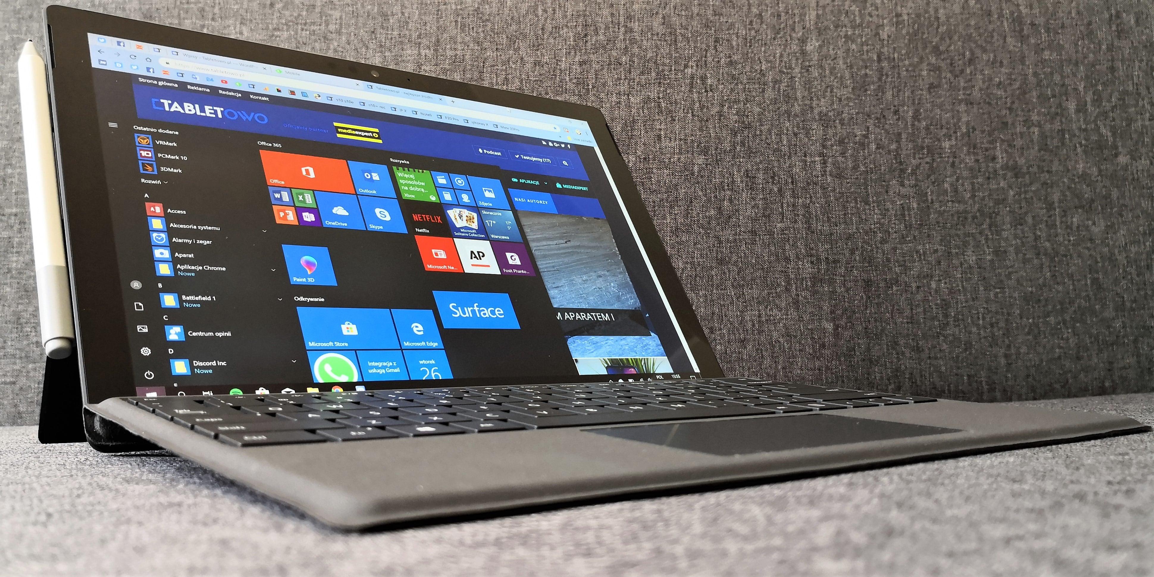 Recenzja Microsoft Surface Pro 6 - lepszy niż lepszy 21
