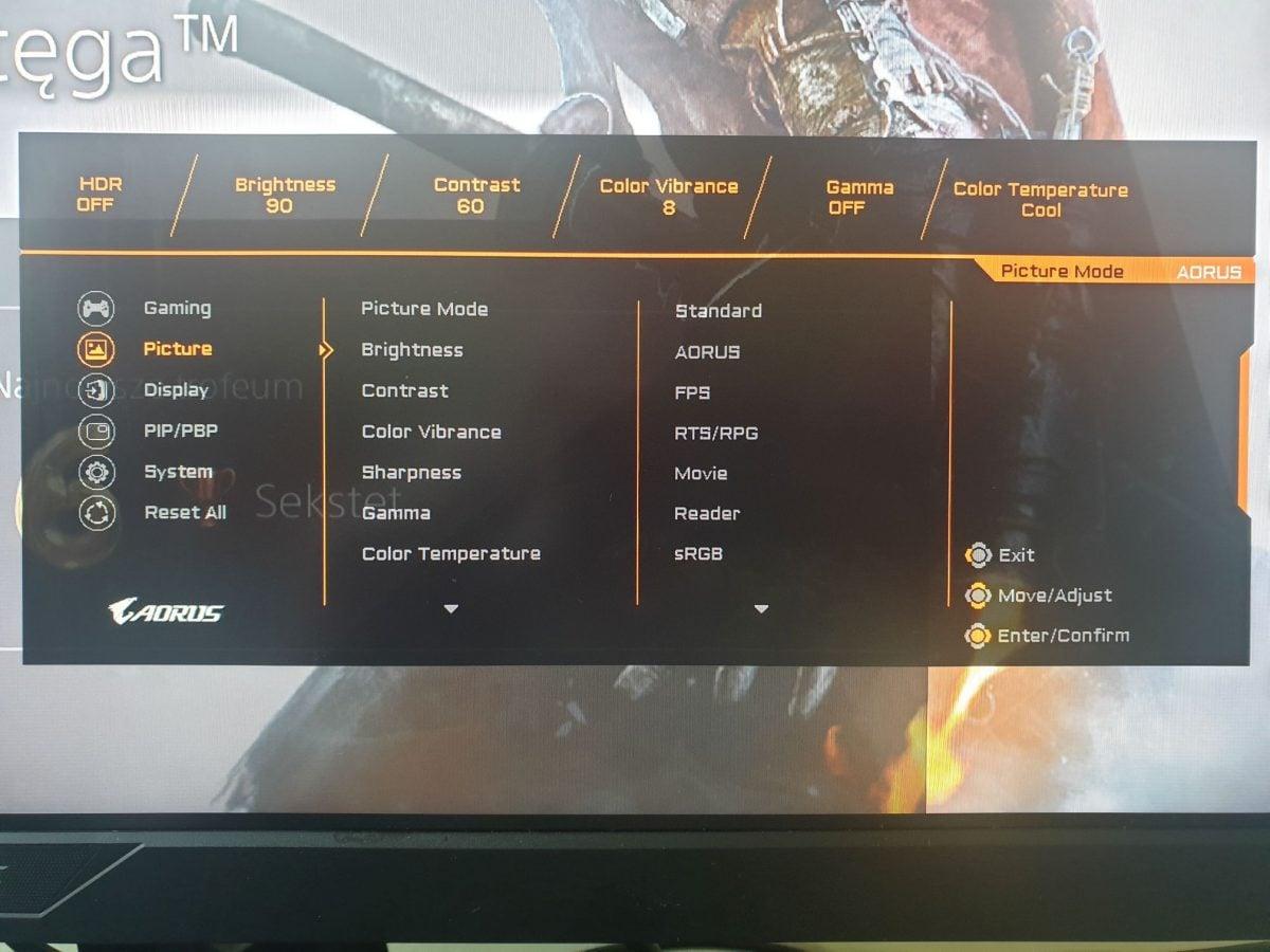 Recenzja monitora AORUS AD27QD - ekran kompletny? 27