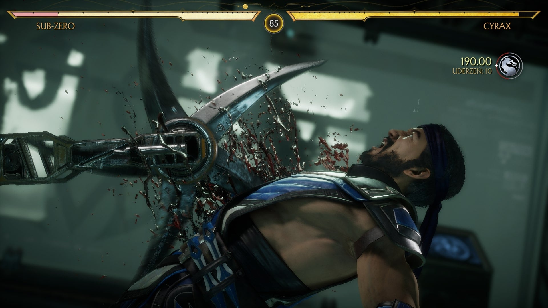 screenshot z gry Mortal Kombat 11