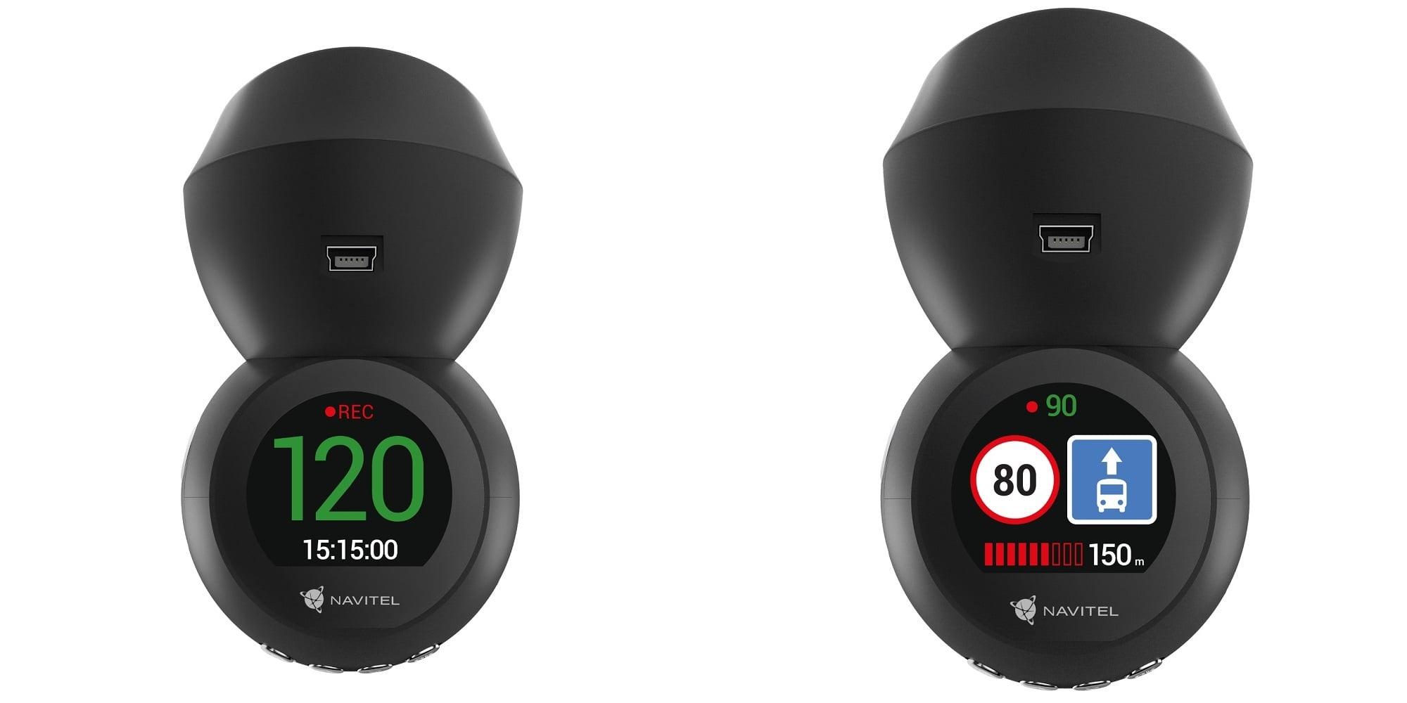 NAVITEL R1050 - kamera samochodowa z bazą fotoradarów i prędkościomierzem 19