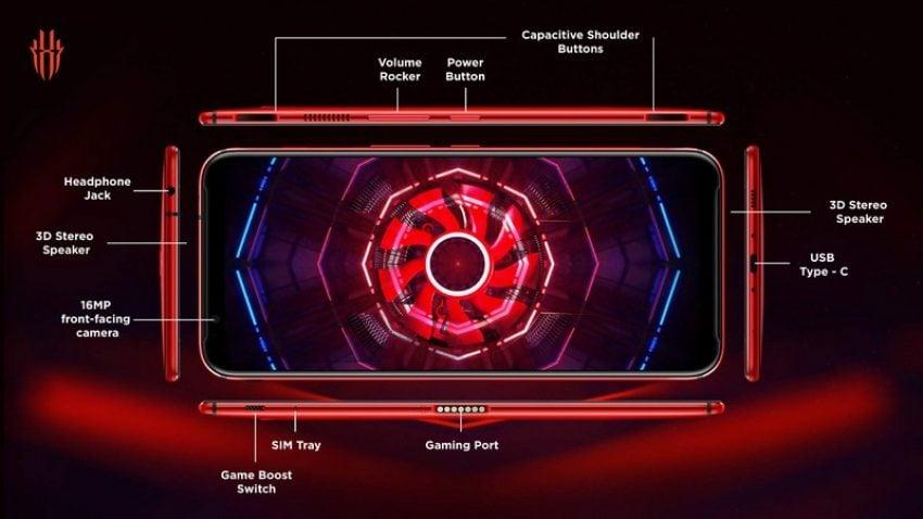 Europejska cena Nubii Red Magic 3 z ekranem AMOLED 90 Hz jest naprawdę zachęcająca