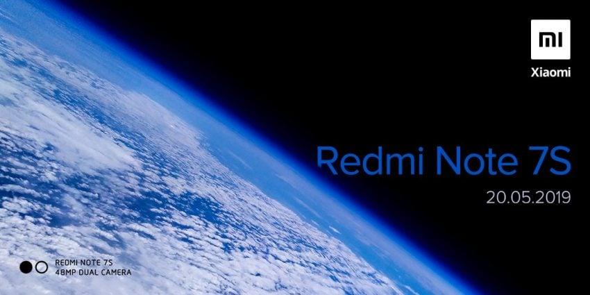 zapowiedź premiery Redmi Note 7S