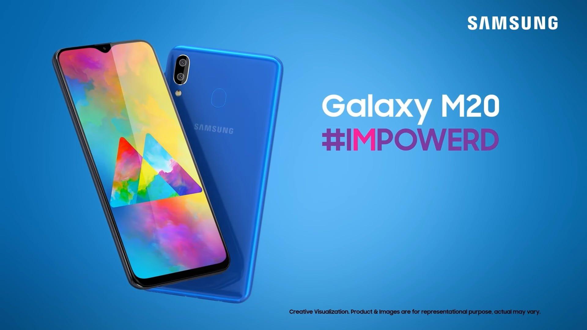 smartfon Samsung Galaxy M20