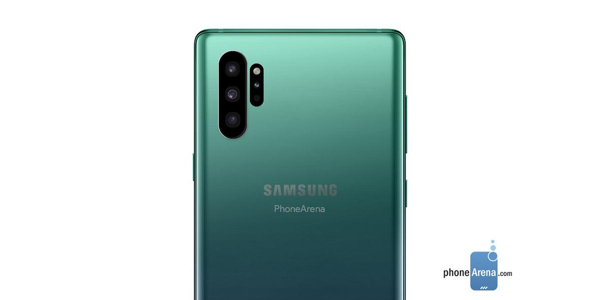 Samsung Galaxy Note 10 bez wejścia na słuchawki i fizycznych przycisków