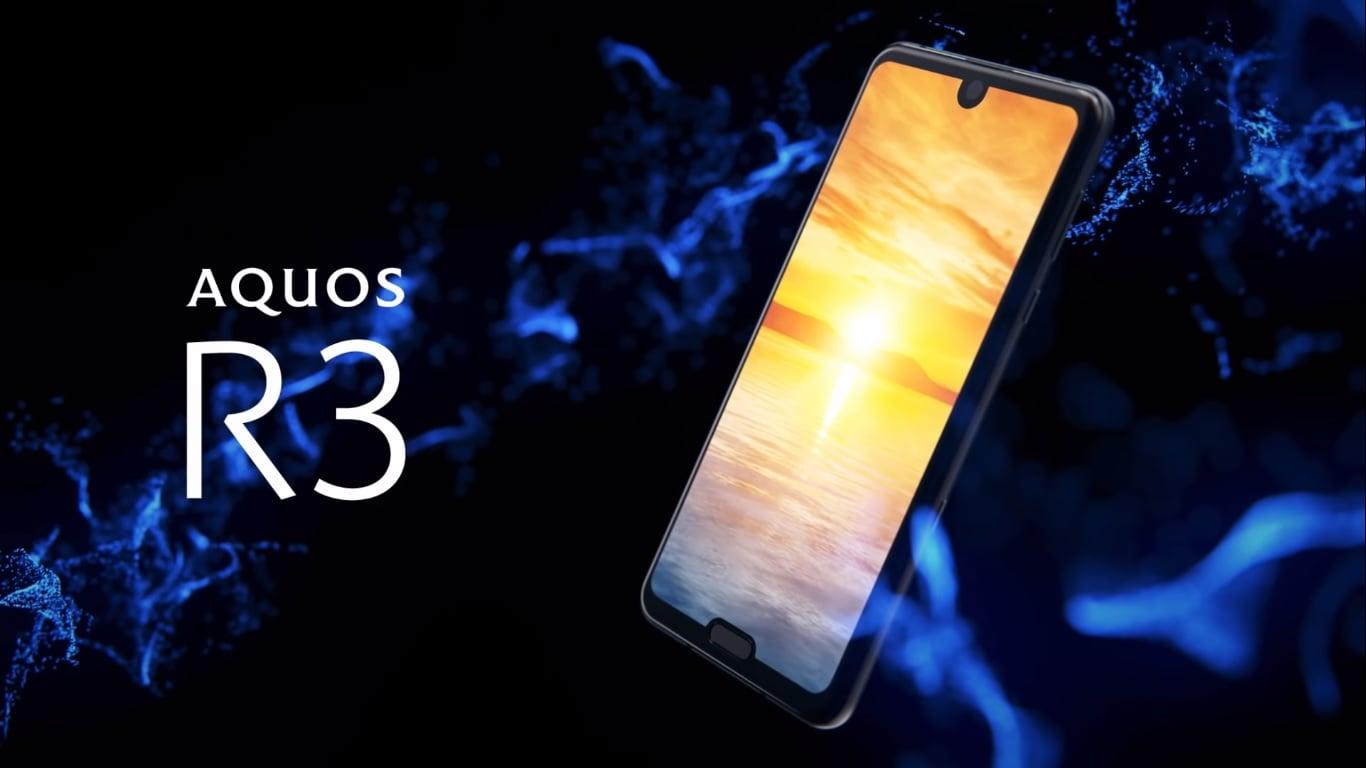 Sharp Aquos R3 z dwoma notchami będzie dostępny w Europie 23