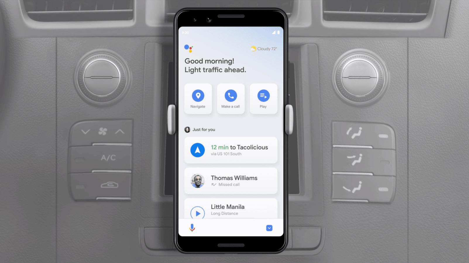 Asystent Google otrzyma tryb dla kierowców i pozwoli zdalnie włączyć klimatyzację 20
