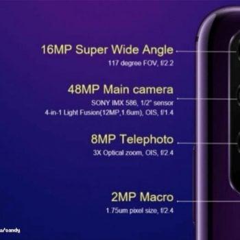 Honor 20 i 20 Pro z poczwórnymi aparatami. Znamy szczegóły