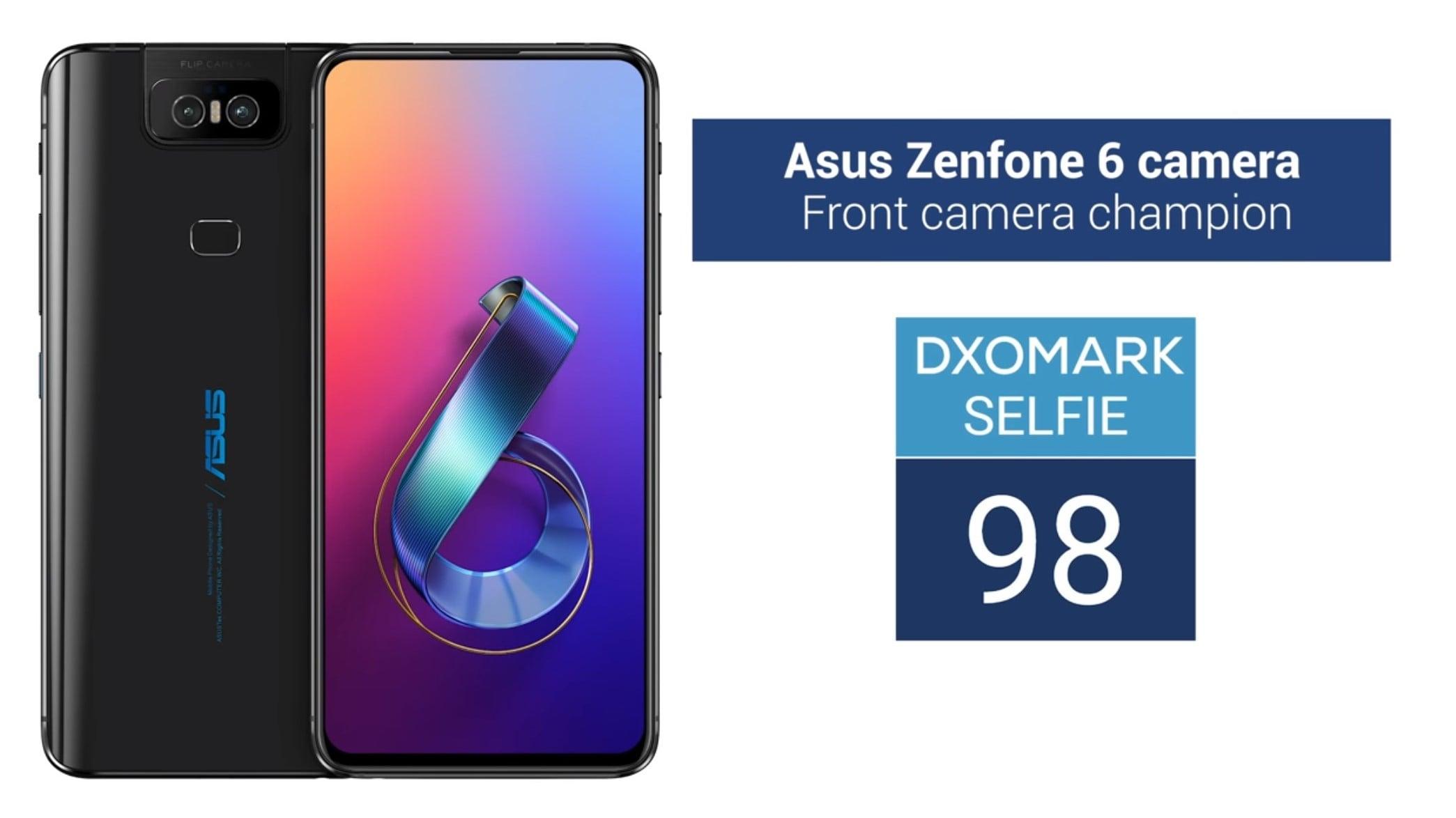 Dzięki jednemu sprytnemu zagraniu, Asus Zenfone 6 został liderem zdjęć selfie w rankingu DxOMark