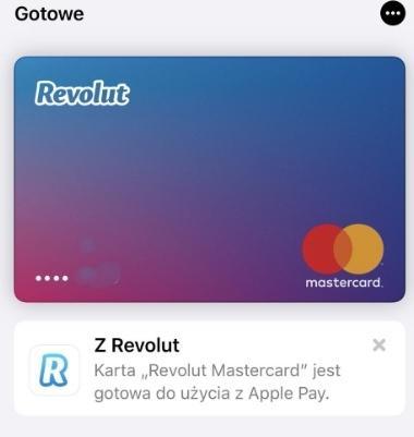 Karty Revolut można już dodawać do Apple Pay w Polsce