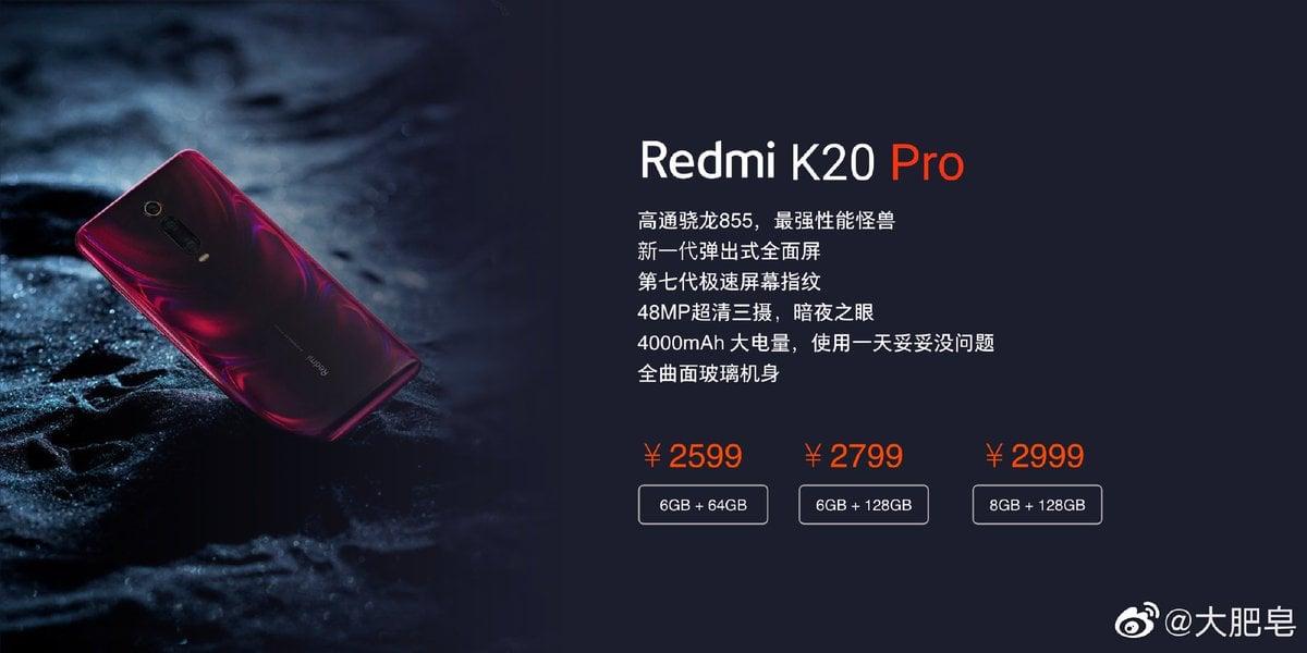 Ceny Redmi K20 Pro (Xiaomi Mi 9T Pro). Będzie tańszy niż Xiaomi Mi 9