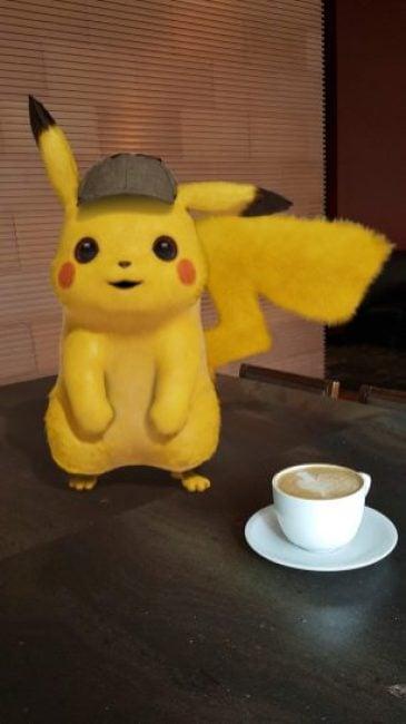 """Świetny PR filmu """"Detektyw Pikachu"""": dedykowane naklejki AR dostępne na wybrane smartfony"""