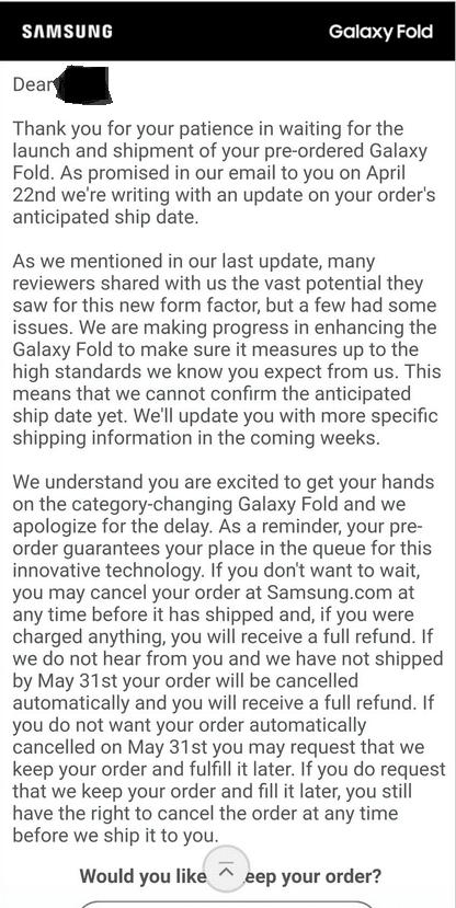 Osoby, które zamówiły składanego Galaxy Folda, muszą podjąć ważną decyzję 18