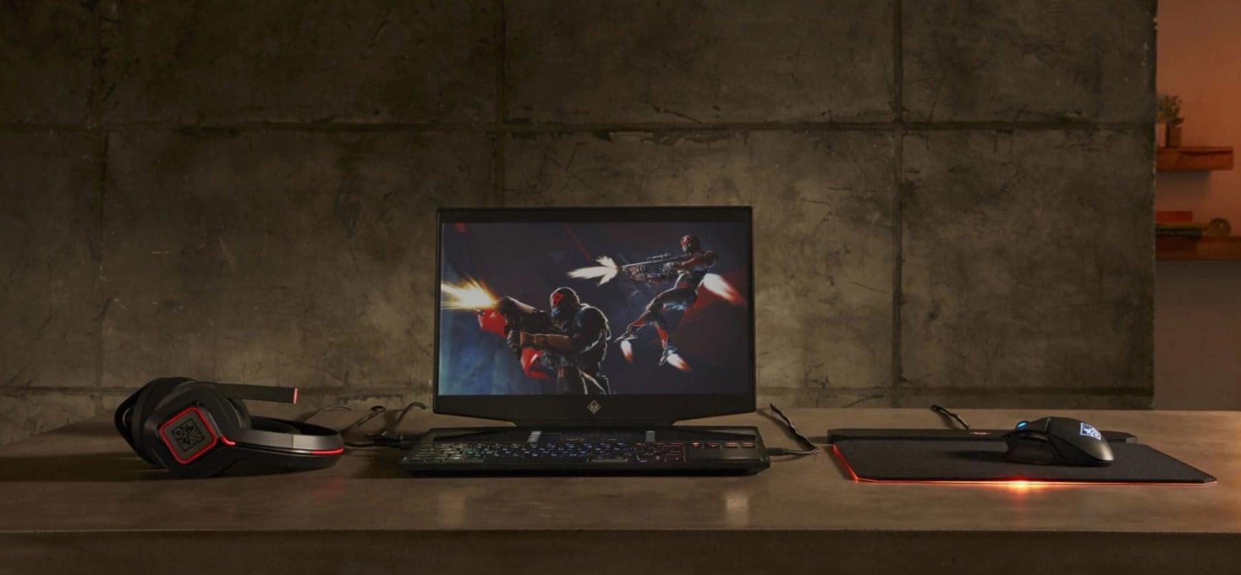 HP prezentuje laptop gamingowy z dodatkowym ekranem do oglądania YouTube'a lub Twitcha