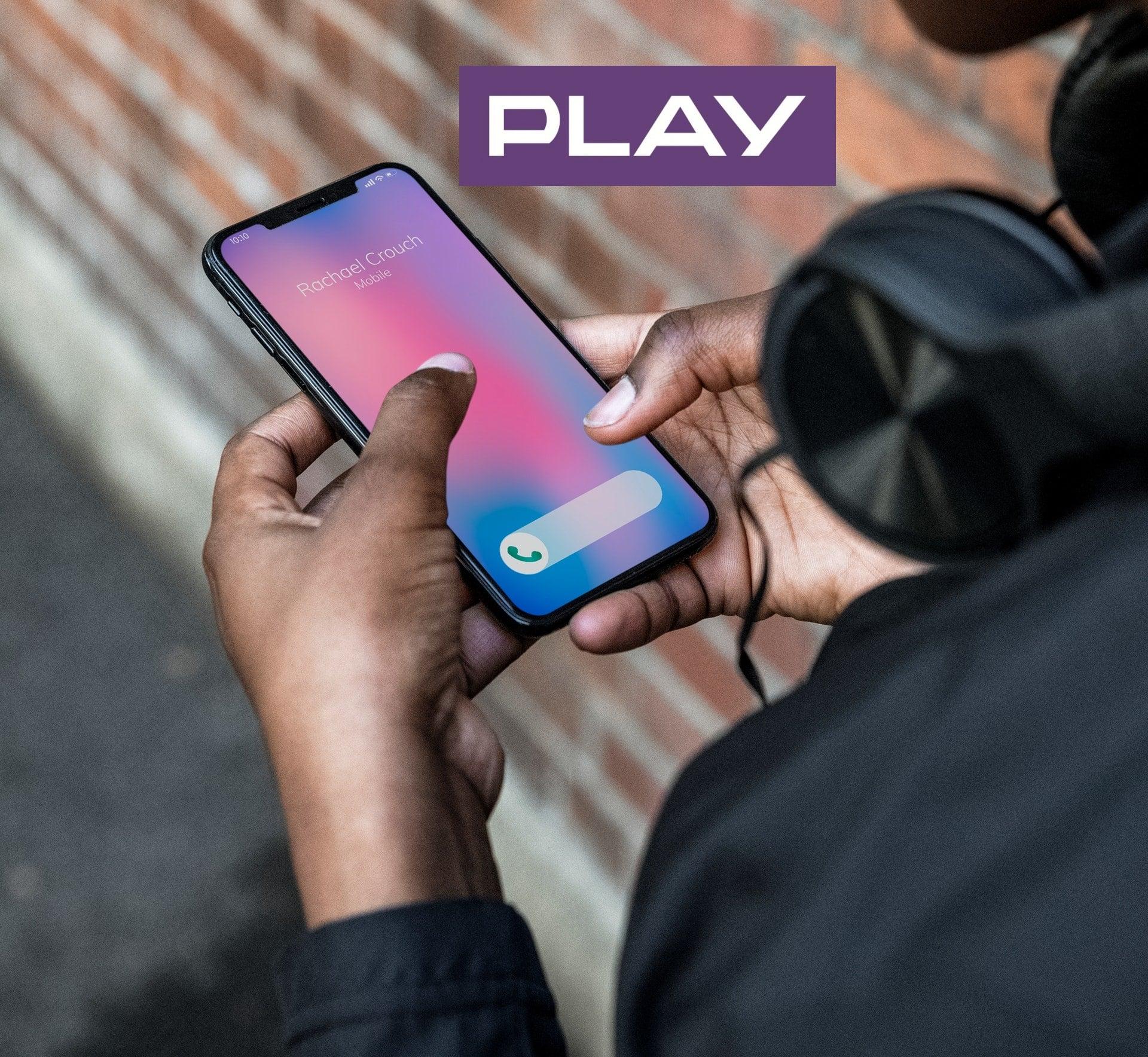 smartfon smartphone Play logo