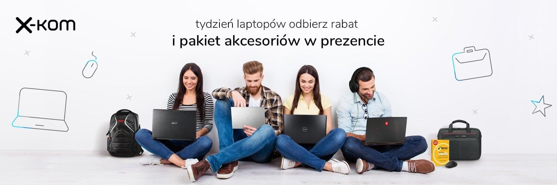 Rabat na laptopa i zestawy gratisów w Tygodniu Laptopów