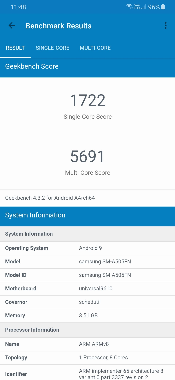 Recenzja Galaxy A50. Nowe średniopółkowe rozdanie Samsunga? 46