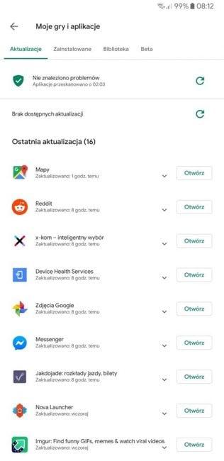 Na sklep Google Play wylały się puszki białej farby. Porównajmy nowy wygląd ze starym