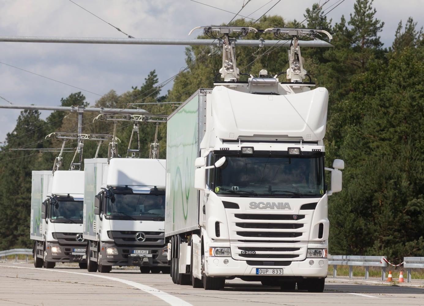 Elektryczne autostrady już są testowane w Niemczech. Docelowo mają mieć łącznie 1000 km 20