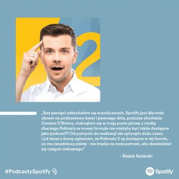 TOP 10 najpopularniejszych polskich podcastów w Spotify