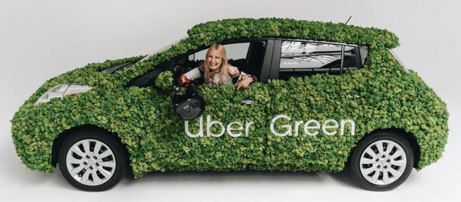 Uber Green w Krakowie. Elektryczne samochody będą dostępne przez trzy miesiące 17