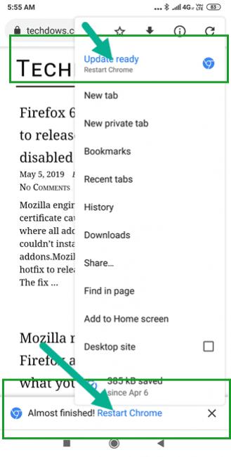 Nowe wersje Chrome'a bez odwiedzania Sklepu Play. Google testuje zmieniony sposób aktualizacji 17