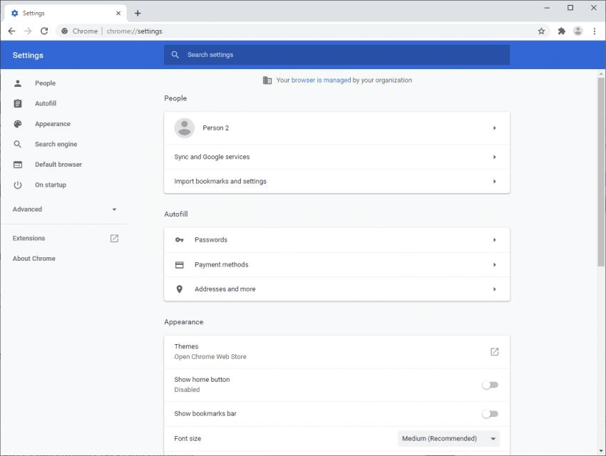 Niewielka zmiana w Google Chrome usprawni poruszanie się po panelu ustawień 17