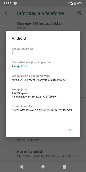 Asus Zenfone Max Pro M1 dostaje aktualizację do Androida 9.0 Pie