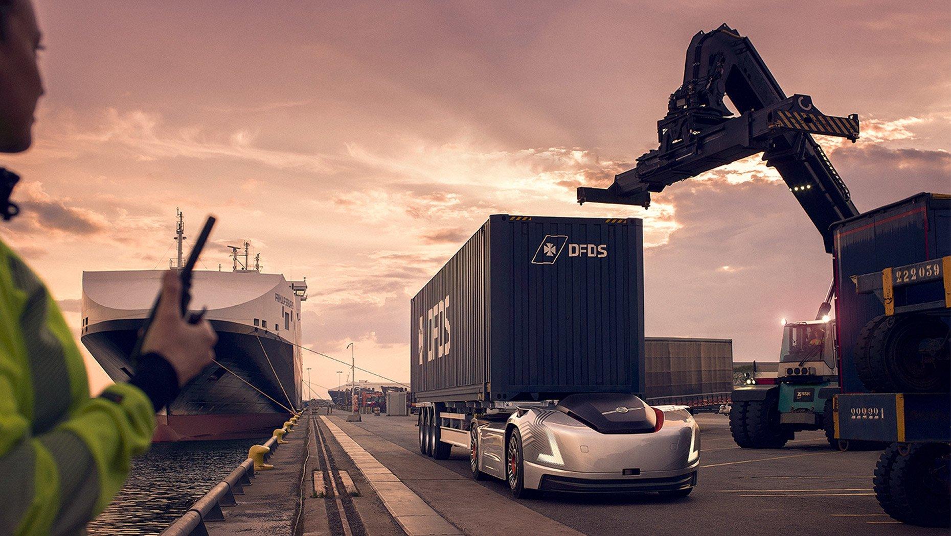 Volvo i NVIDIA łączą siły, aby wprowadzić autonomiczne ciężarówki na publiczne drogi