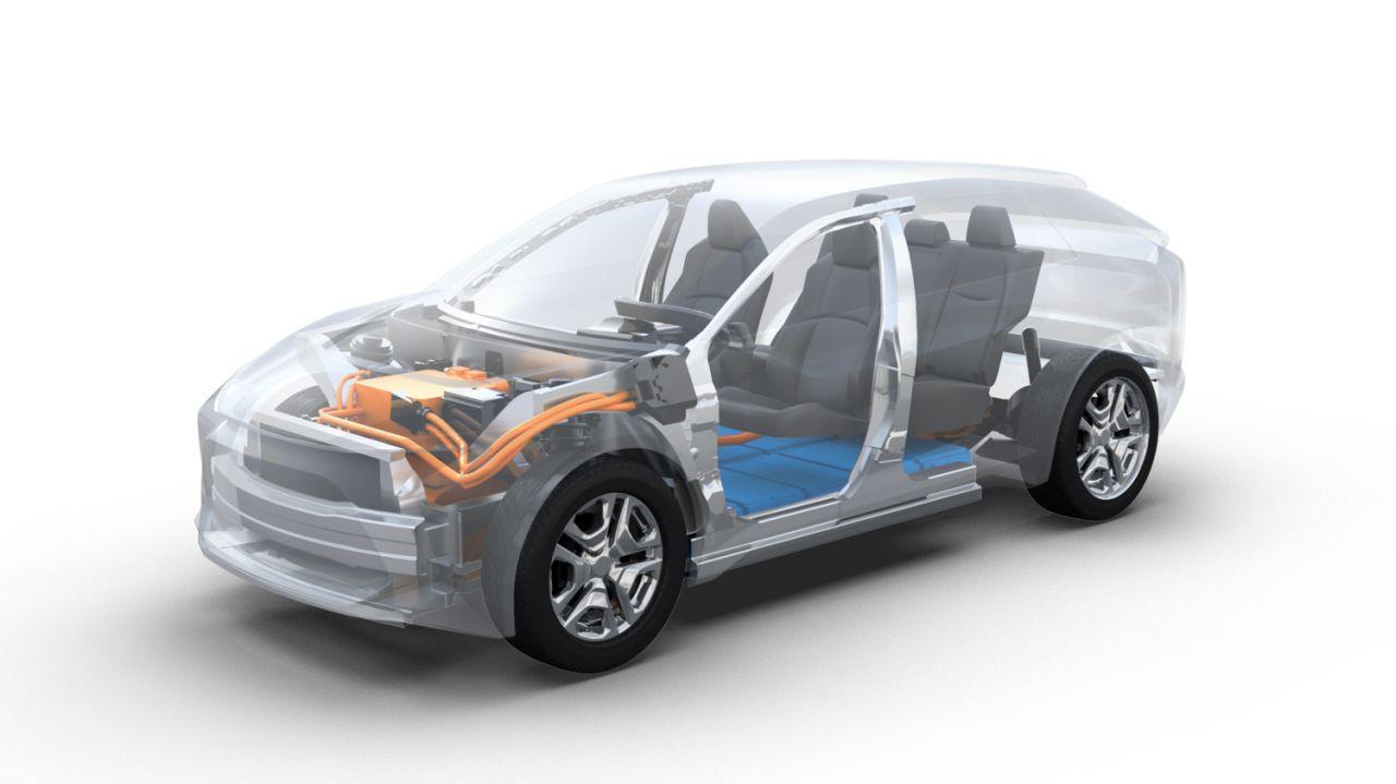 Toyota i Subaru zbudują elektrycznego SUV-a