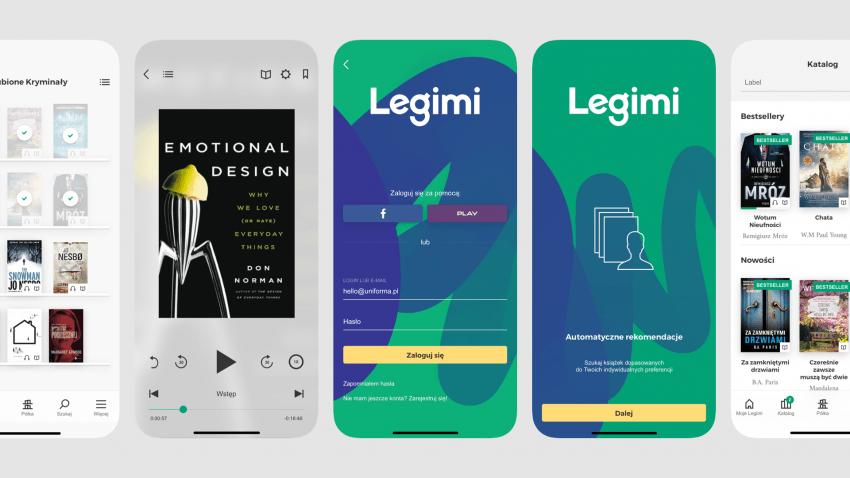 Zmiany w Legimi. Nowe szaty serwisu internetowego i aplikacji