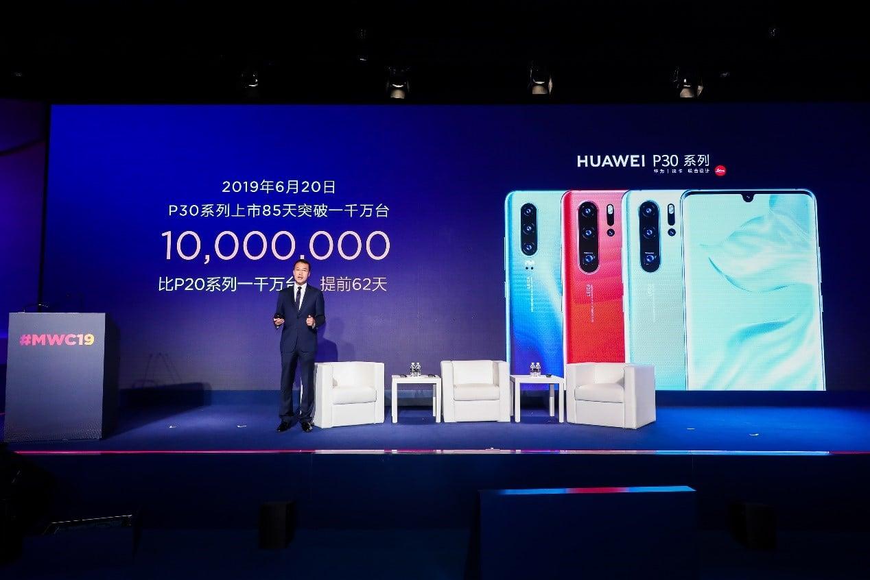 Smartfony z serii Huawei P30 sprzedają się jak marzenie 22