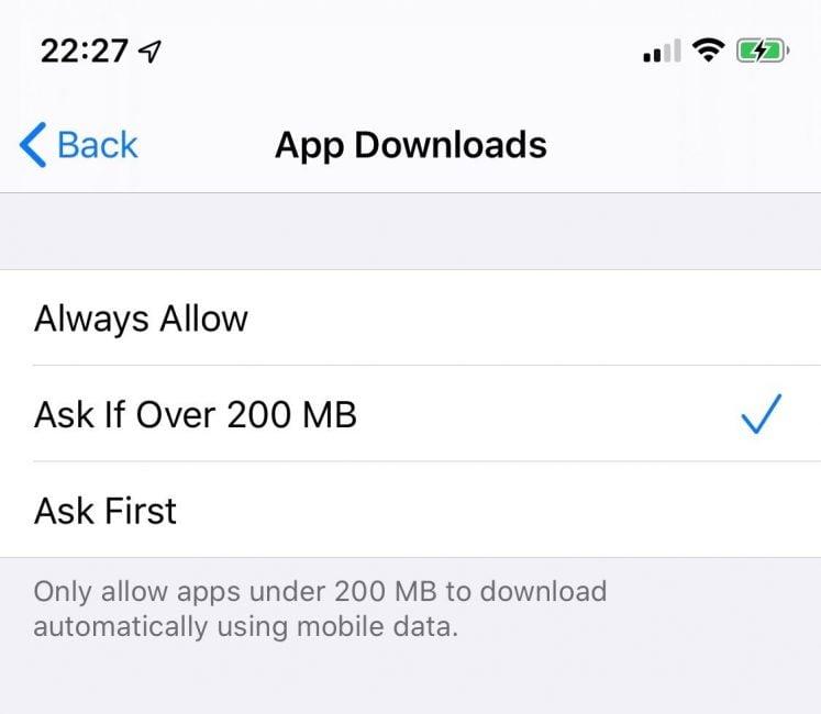 iOS 13 dostosowany do 2019 roku: Apple bez Wi-Fi pozwala pobrać każdą aplikację