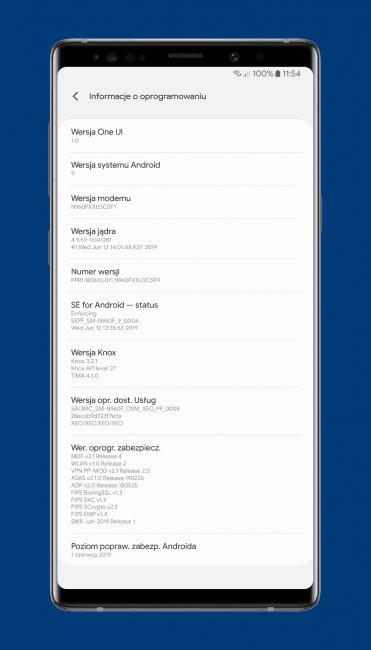 Samsung i Sony aktualizują smartfony: Galaxy Note 9 dostaje tryb nocny aparatu 20