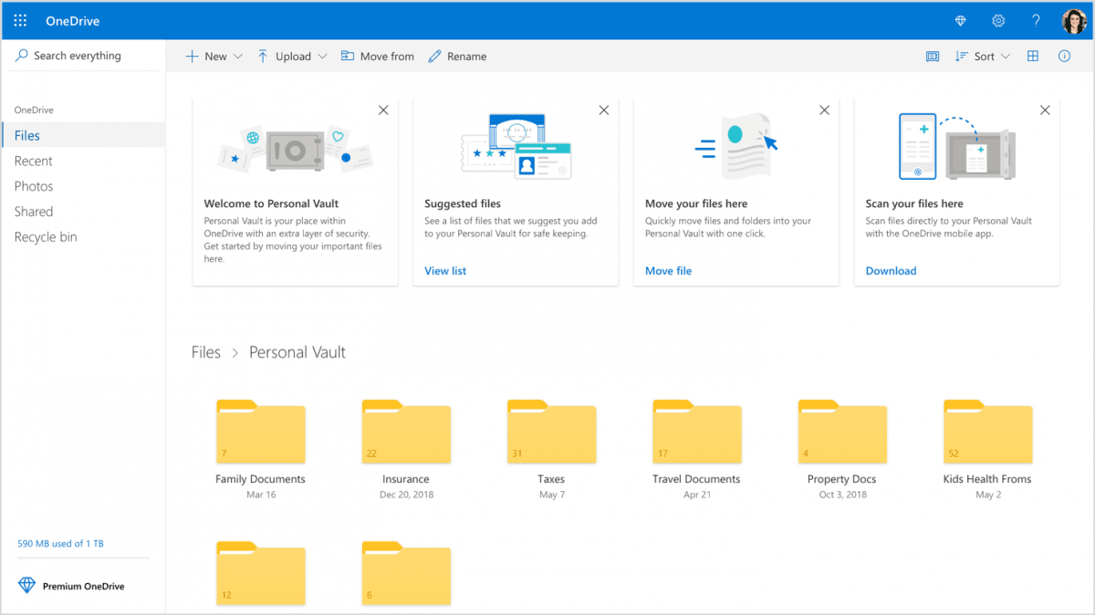 Osobisty sejf na pliki w usłudze OneDrive. Oto, co oferuje nowa funkcja