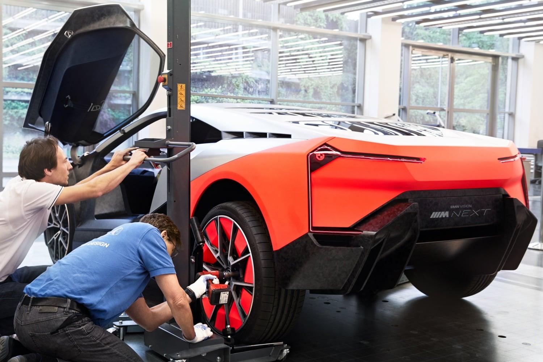 BMW Vision M Next – w przyszłości wciąż będzie miejsce na radośćz jazdy