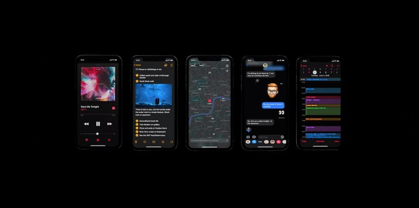 iOS 13 oficjalnie zaprezentowany: ciemny motyw i znacząca optymalizacja 22