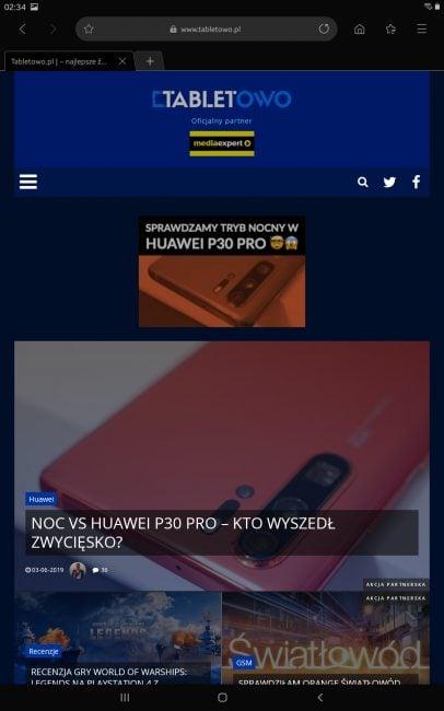 Samsung Galaxy Tab A 10.1 2019 - wzór tabletu z Androidem poniżej 1000 złotych (recenzja)