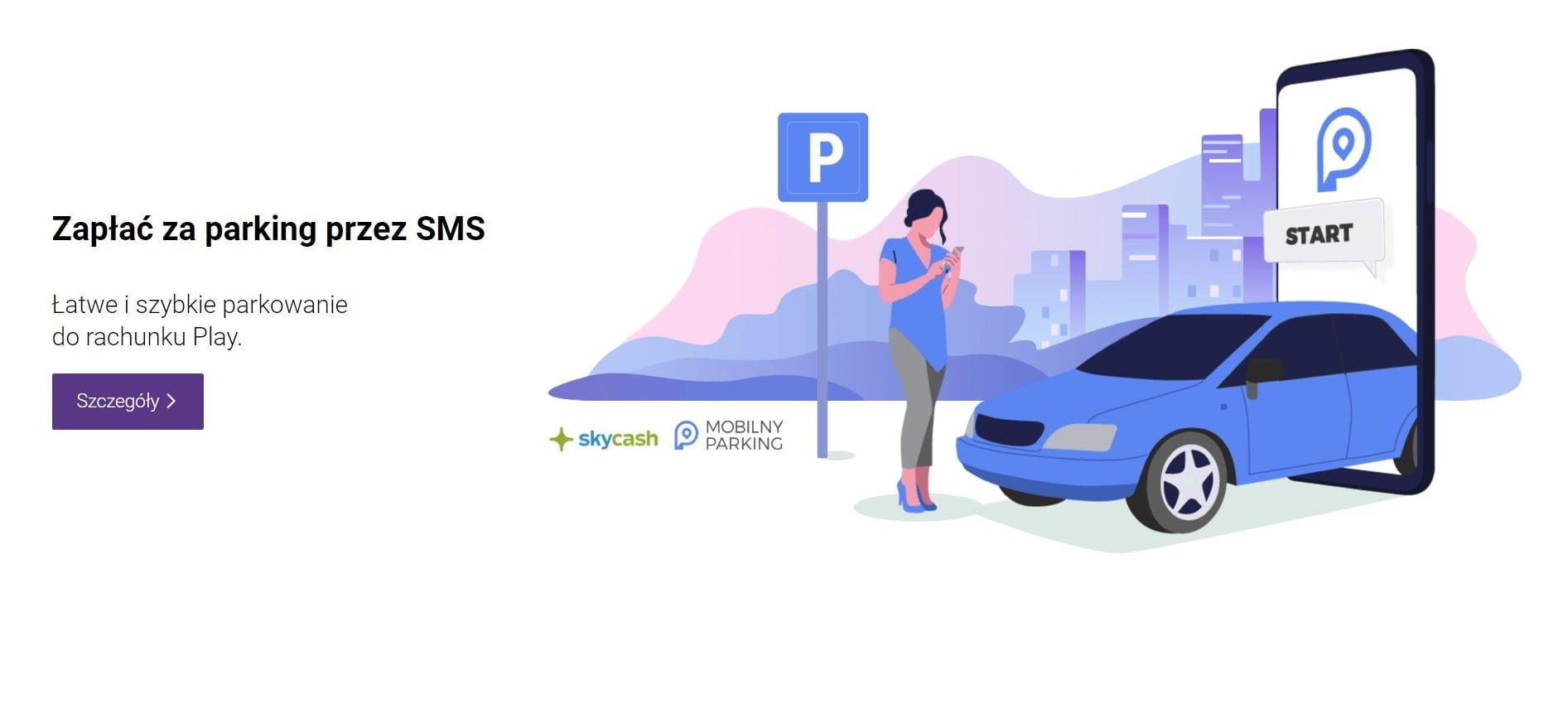Nowość: Zapłać za parking przez SMS i dopisz do rachunku w Play 19