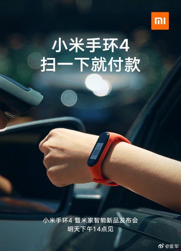 Za pomocą Xiaomi Mi Band 4 będzie można płacić, ale nie w Polsce