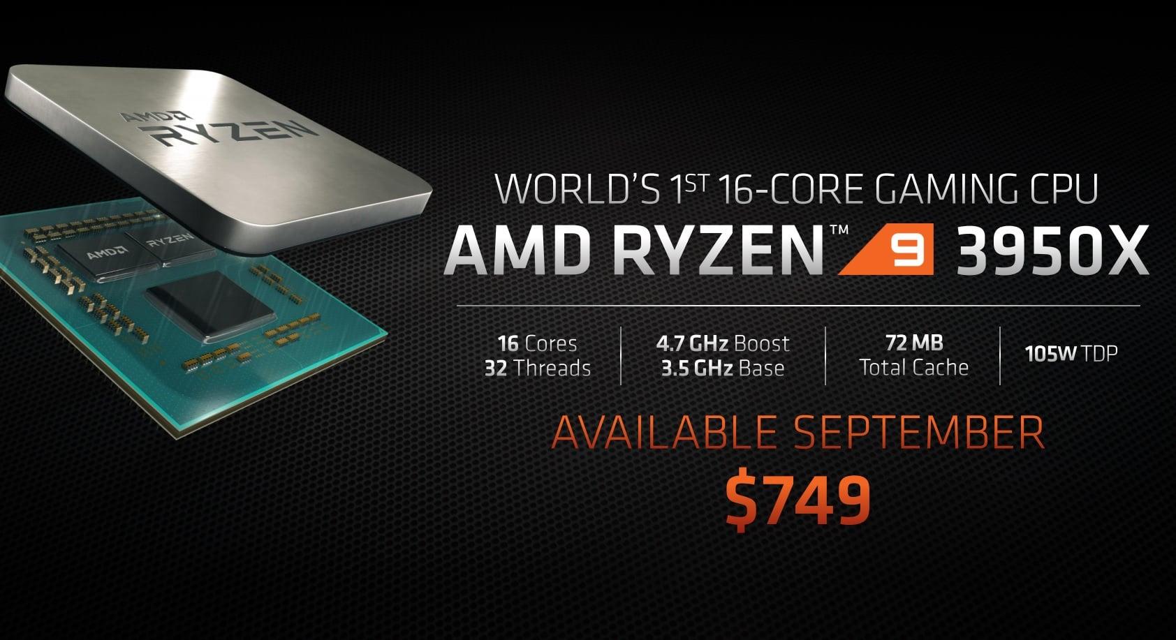 AMD zaprezentowało 16-rdzeniowy procesor dla graczy i nowe karty graficzne - RX 5700 XT oraz RX 5700! 24