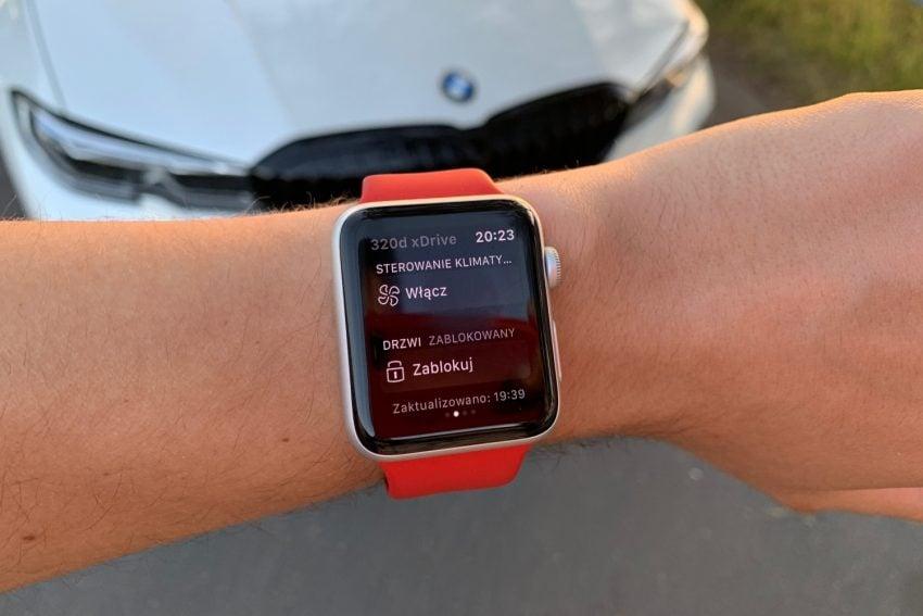 Nowe BMW serii 3, smartfon i Apple Watch – sprawdziłem, co oferuje BMW Connected 26