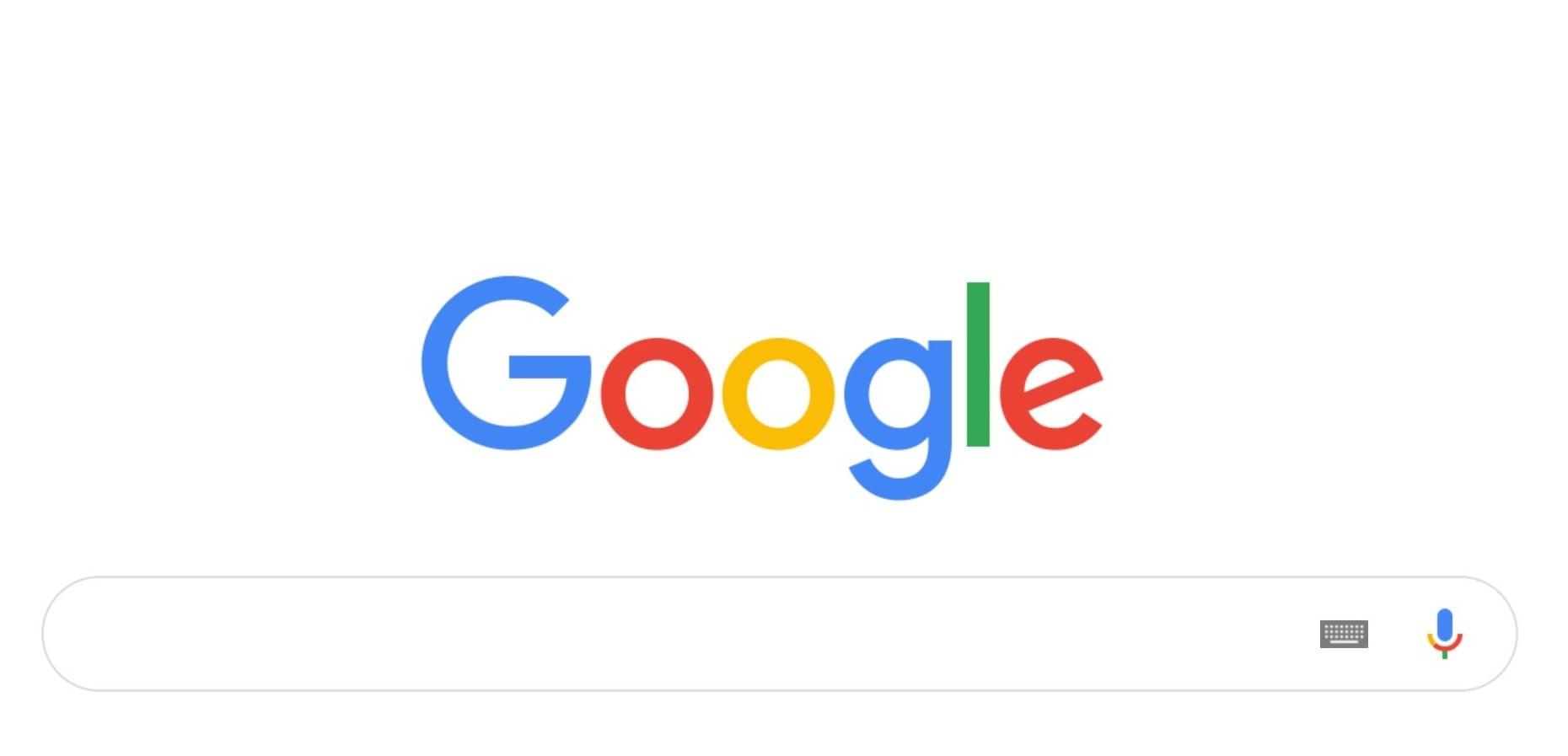 Wyszukiwarka Google na komputerach zmieniła się wizualnie, ale tylko troszeczkę