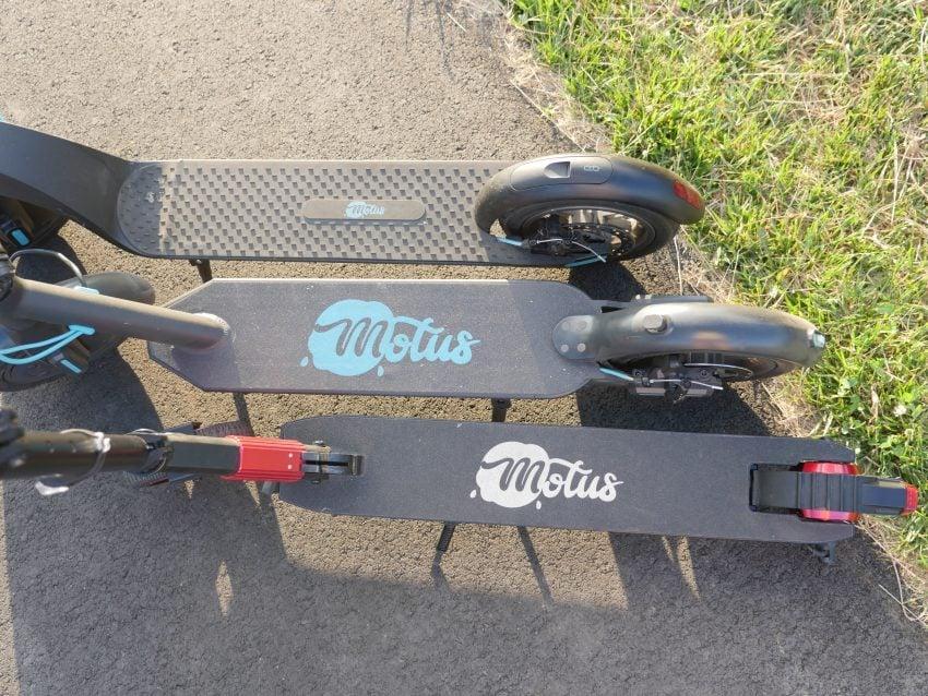 hulajnogi elektryczne Motus - Scooty 8.5 Power, Scooty 8.5 i Scooty 6.5