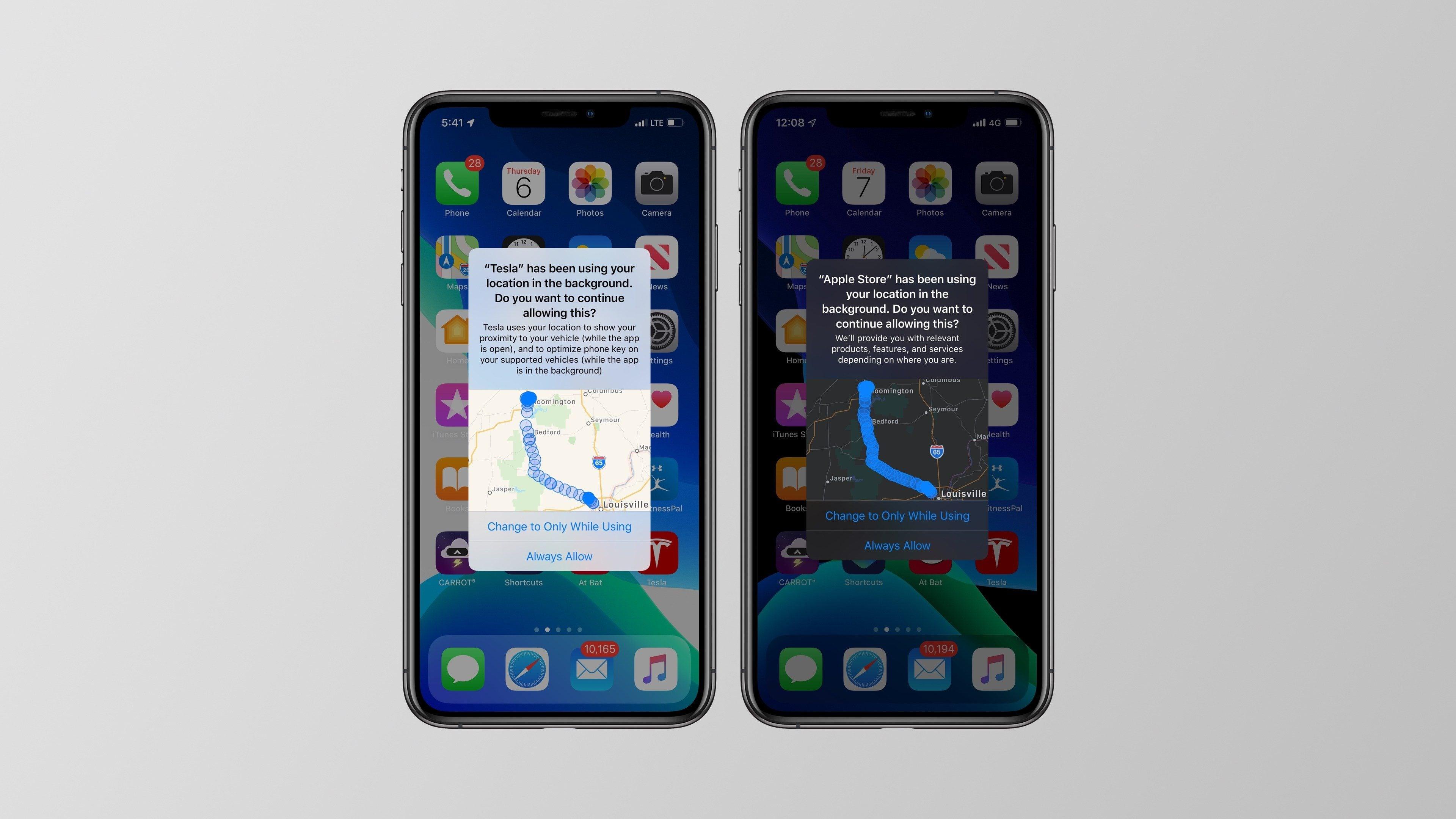iOS 13 umożliwia podejrzenie aplikacji, które śledziły użytkownika