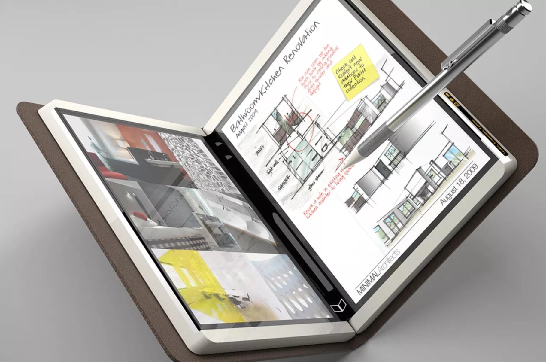 Składane urządzenie Surface z dwoma ekranami na tajnym pokazie w Microsofcie 25