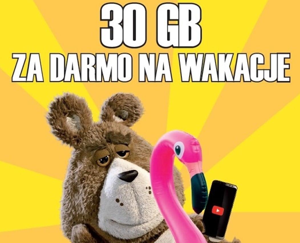 30 GB za darmo na wakacje od Plusha - posiadacze telefonów na kartę mają dobrze