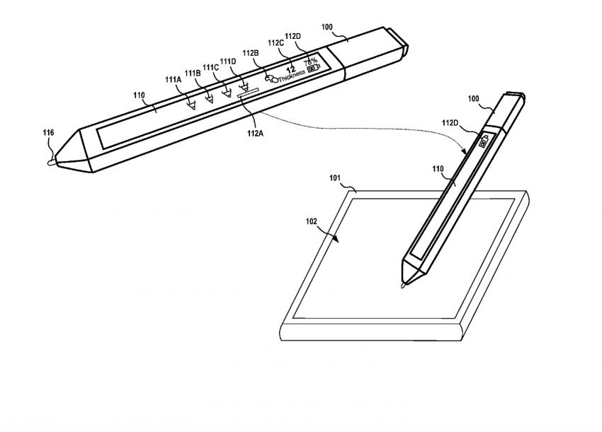 Rysik z dotykowym wyświetlaczem? Microsoft ma nowy pomysł na Surface Pen 21