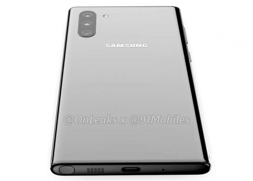Podbródek Galaxy Note 10 wciąż większy niż w iPhonie